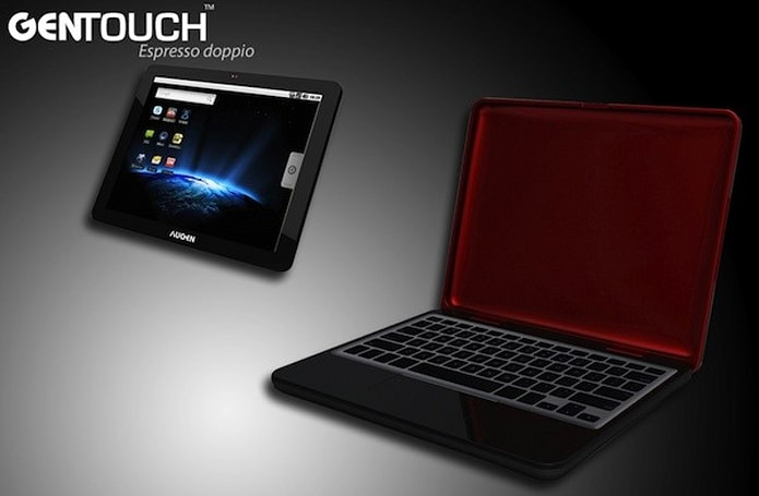 Augen Android tablet bonanza: Espresso Doppio dual boots Ubuntu, Firma packs magical pen powers