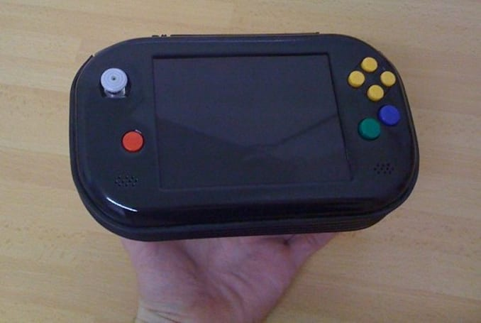 N64Mini makes claim to 'world's smallest' portable N64, is still rather husky (video)