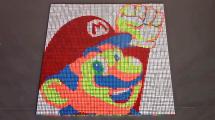 961 Zauberwürfel für ein Super-Mario-Stop-Motion-Video