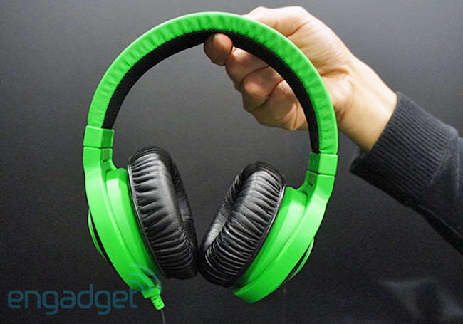 Razer announces new Kraken gaming headsets: Pros get a pull-out mic (hands-on)