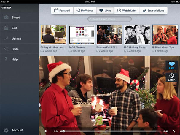 Vimeo outs new iOS app at MWC, now sporting iPad compatibility