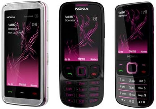 Nokia's Illuvial Collection is pretty in pink
