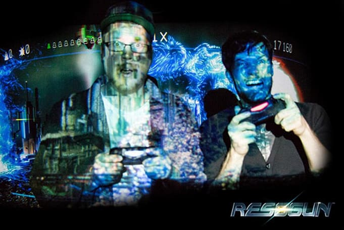 Housemarque might be teasing local multiplayer for Resogun