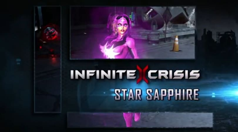 Infinite Crisis brings Star Sapphire into the fold