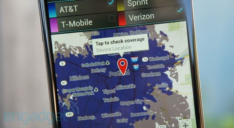 CellMaps by Mosaik brings accurate, detailed coverage maps to Android