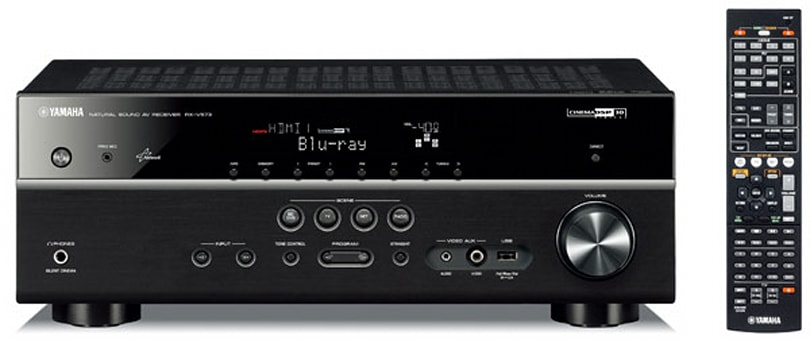Yamaha RX-V573 and RX-V473 receivers include AirPlay integration, 4K passthrough