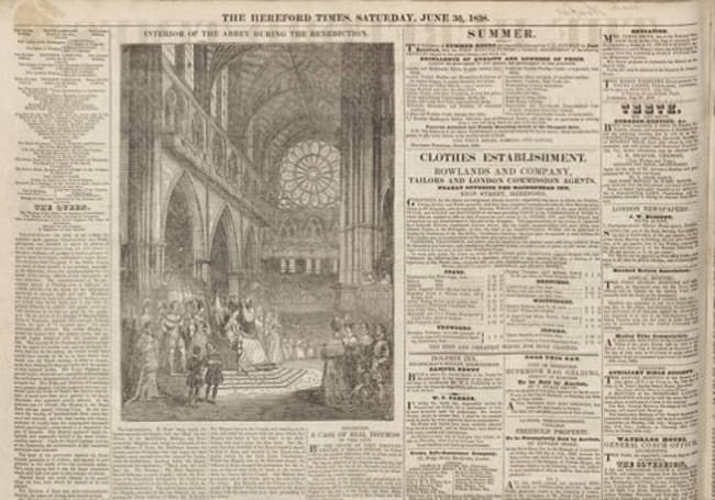 British Library digitizes 300 years worth of newspaper archives, brings 65 million articles online