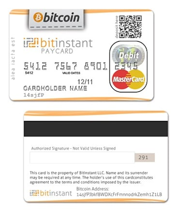 BitInstant founder says BitCoin debit card to launch within next two months