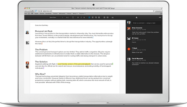 Box Notes takes on Google Docs with collaborative editing, available in beta now (video)