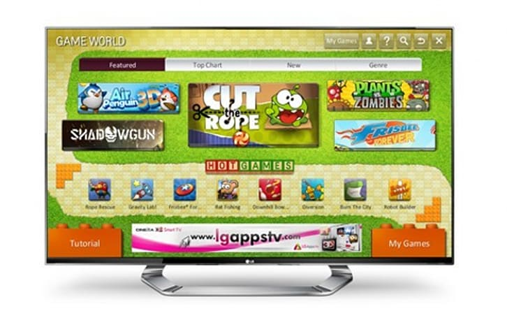 LG opening 'Game World' portal for Smart TV