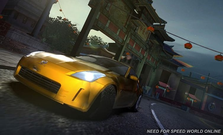 Need for Speed: World Online begins testing in March