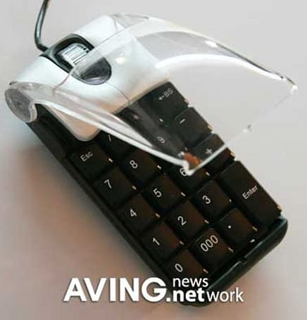 Ezkey's mouse and keypad combo