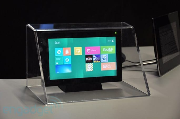 NVIDIA's Kal-El reference tablet running Windows 8 at Build (eyes-on)