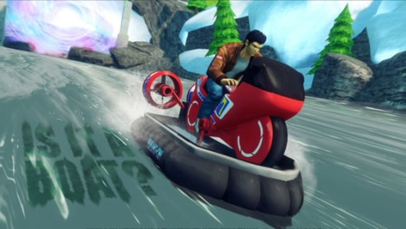 Shenmue hero Ryo Hazuki joins PC Sonic All-Stars Racing Transformed