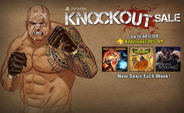 PSN gets in the ring for two rounds of PS Vita price drops