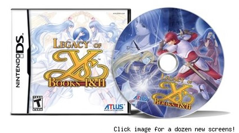 A fitting legacy for your Legacy of Ys preorder