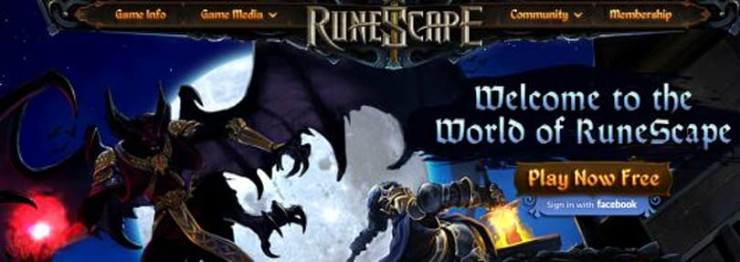 Jagex unveils new RuneScape website