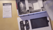 Unboxing-Video: Nintendo Switch