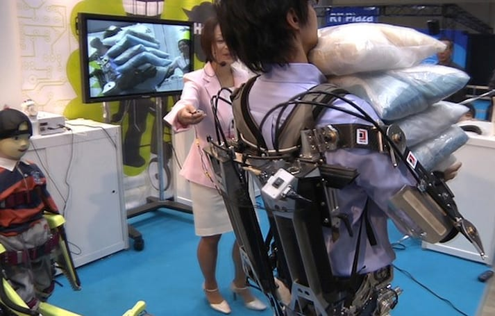 Tokyo robosuit could make you the sack lifting champion