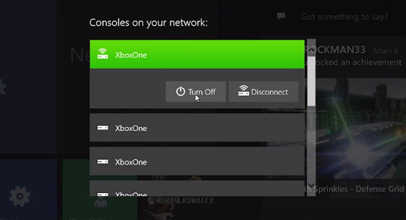 Turn on your Xbox One from an app with the latest update