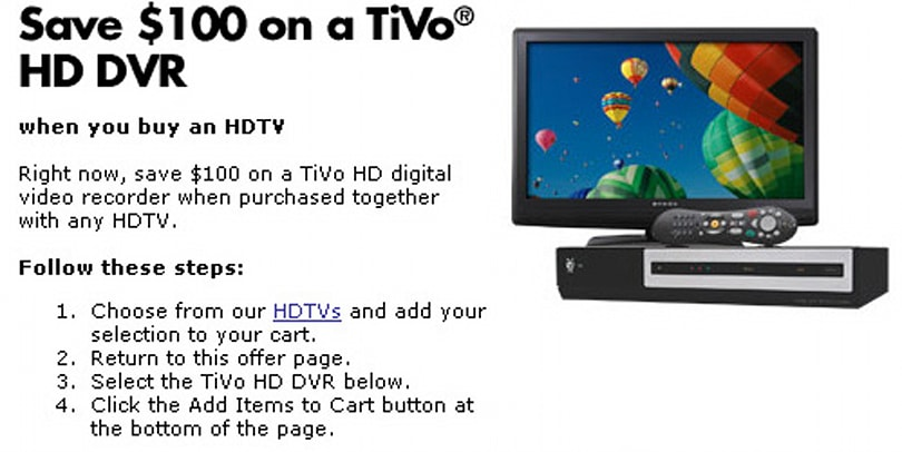 TiVo queues up holiday bundles to spread the TiVo HD cheer