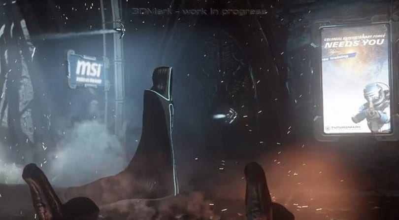 Next 3DMark teased, who says benchmarks don't need trailers? (video)