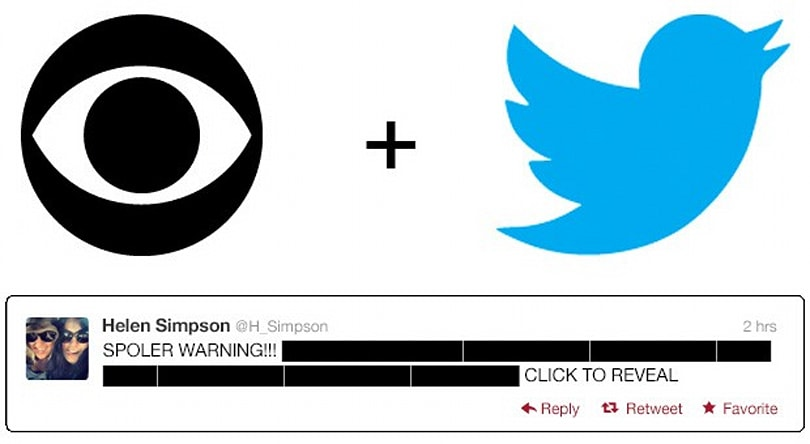TV on Twitter gets a boost: CBS offers in-tweet highlight videos, Netflix keeps spoilers out