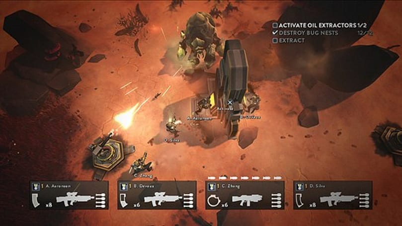Helldivers coming to PS4, PS3 and Vita with Cross-Play