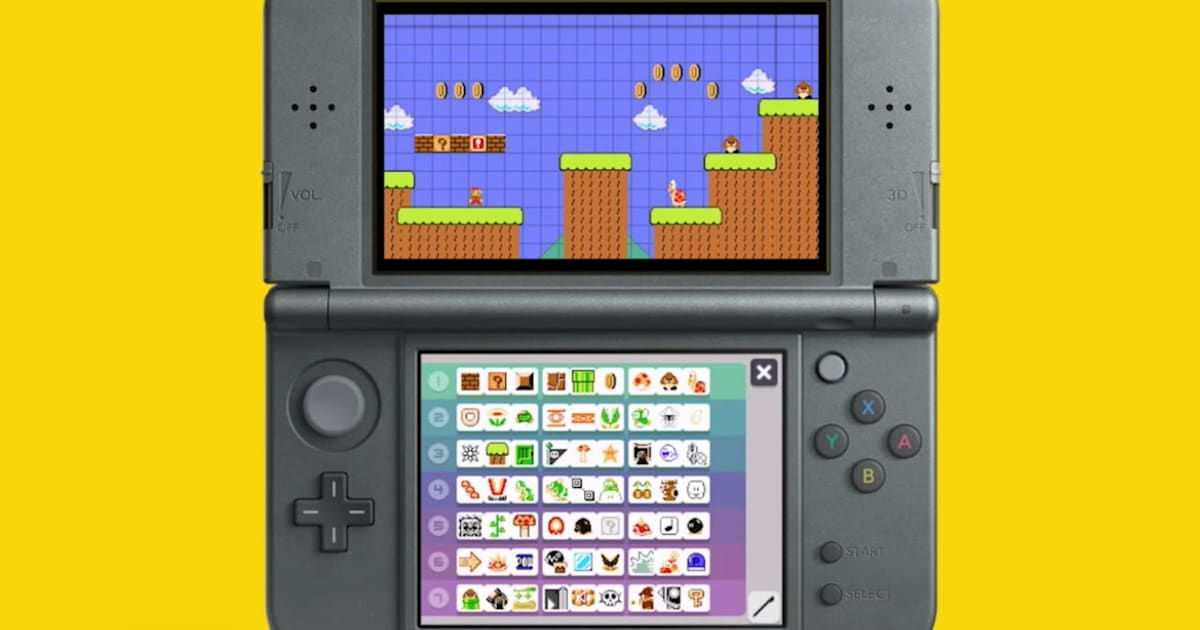 'Super Mario Maker' heads to 3DS on December 2nd