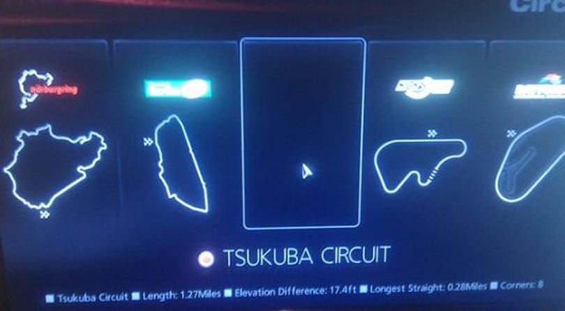 Secret menu found in Gran Turismo 5 Prologue