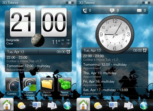 Home Tab Mod 1.7 for Sense 2.5 breathes new life into Windows Mobile (video)