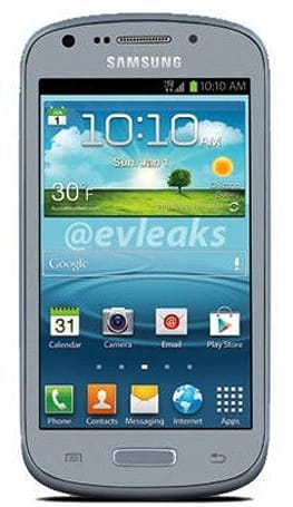 Alleged 4-inch Samsung Galaxy Axiom leaks, could be headed to US Cellular
