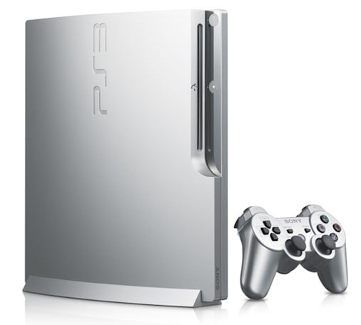 Satin Silver PS3 Rolls into Japan on March 10th
