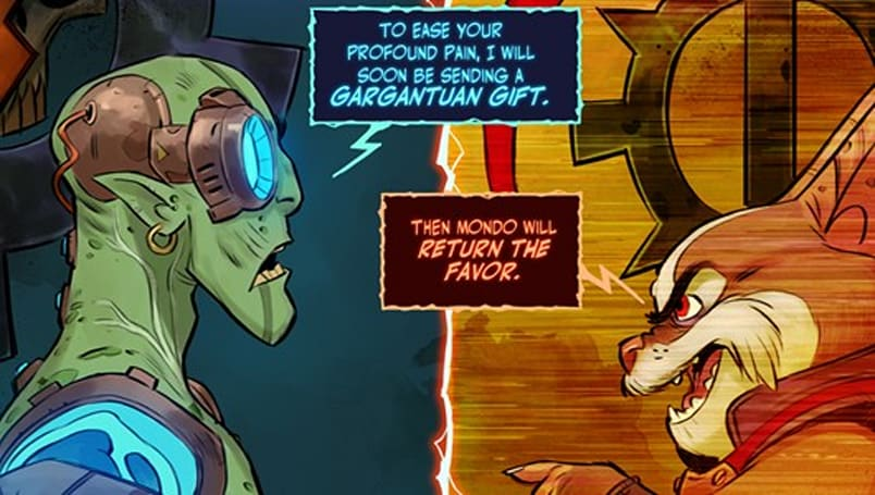 The end has come for this issue of WildStar's webcomic