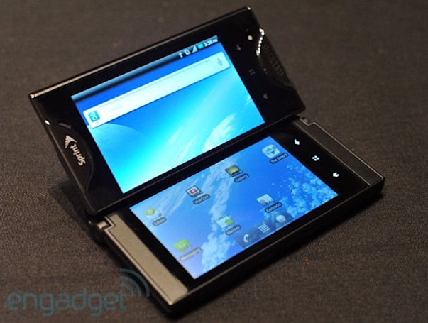Sprint's Kyocera Echo dual-screen Android phone announced, we go hands-on (update)
