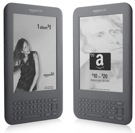 Ad-supported Kindle to ship May 3rd: saves $25, includes lot of enticement