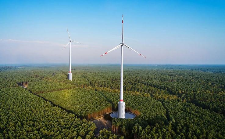 Six innovative wind turbine designs