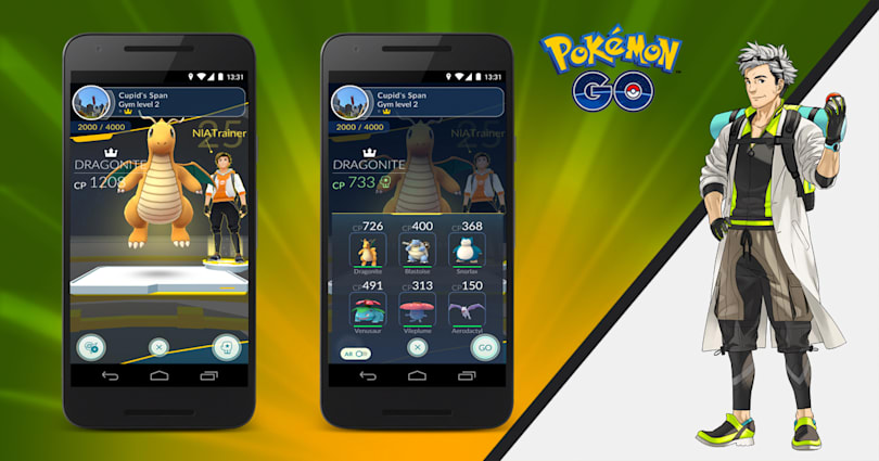 Casual 'Pokemon Go' trainers now have a fighting chance