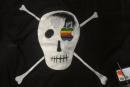 "Susan Kare selling replicas of the Mac team's ""pirate flag"""