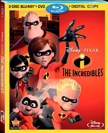 The Incredibles Blu-ray officially announced, arrives with new extras April 12th