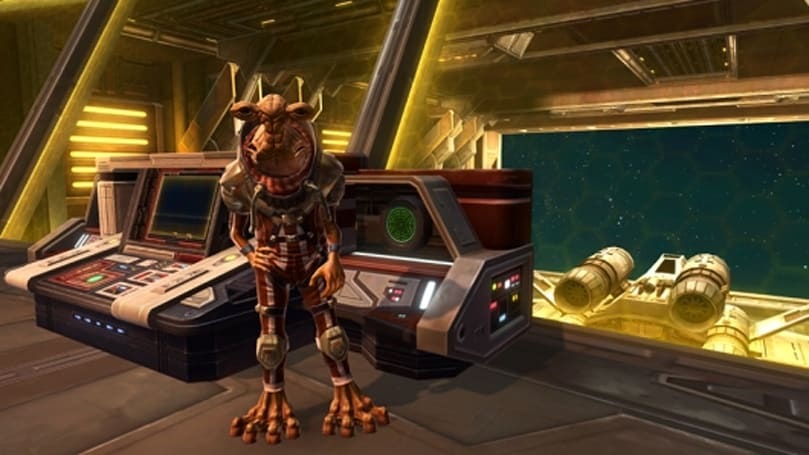 SWTOR gives Galactic Starfighter crew member bios