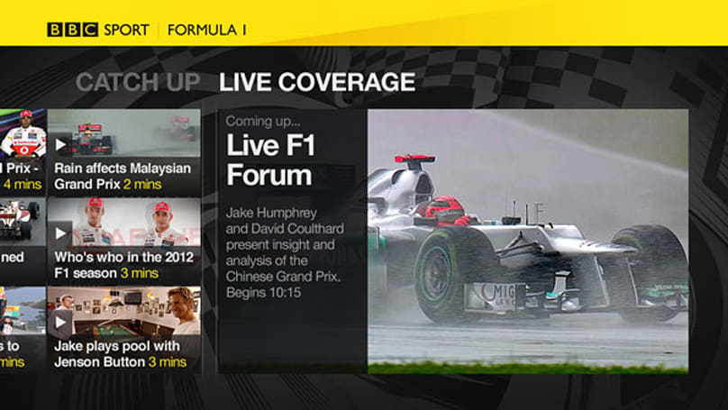 BBC Sport app brings Olympics and more to Sony Bravia TVs, PlayStation 3 and Blu-ray players
