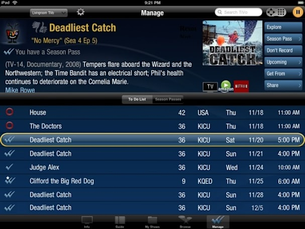TiVo Premiere UI gets a shot in the arm with iPad remote control