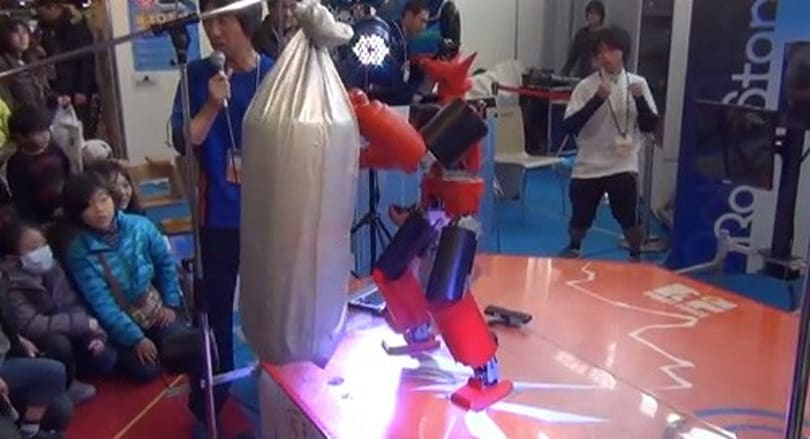 Naoki Maru's Real King Kizer gets closer to Real Steel with motion sensing (video)