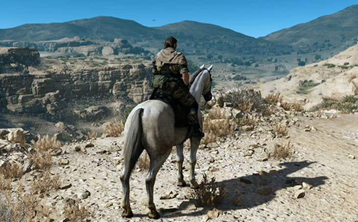 Watch 20 minutes of new gameplay from MGS5: The Phantom Pain