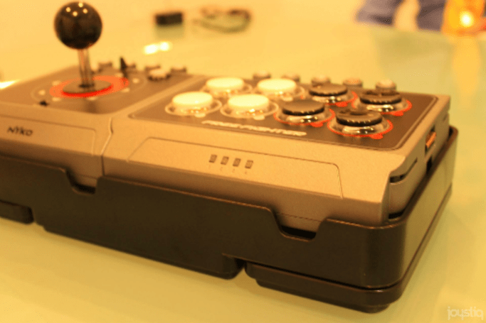 Hands on: Nyko Free Fighter arcade stick (plus bonus Nyko booth gadgets)