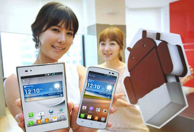 LG's Android 4.0 upgrades for Optimus LTE, LTE Tag, Vu start in June