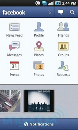 New Facebook app for Android available, adds Places, Groups & improved notifications (update: iPhone, too)