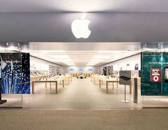 The first Apple retail store has become a cult destination