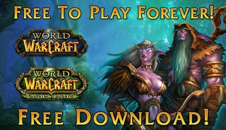 World of Warcraft won't raise free-to-play above level 20